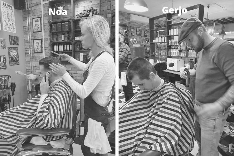 Social deal, barbershop lelystad